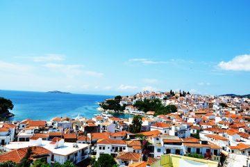 skijatos grad ostrvo grcka